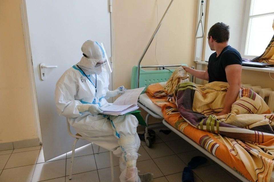 В волгоградских ковидных госпиталях пациентов становится все меньше.