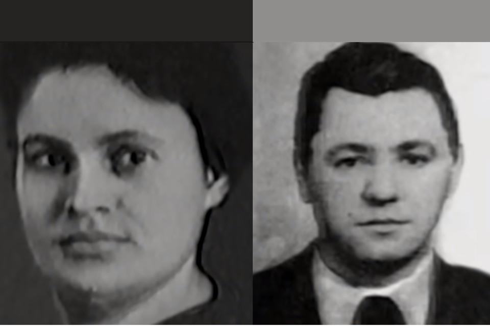 Валентина и Александр Мерзлые.
