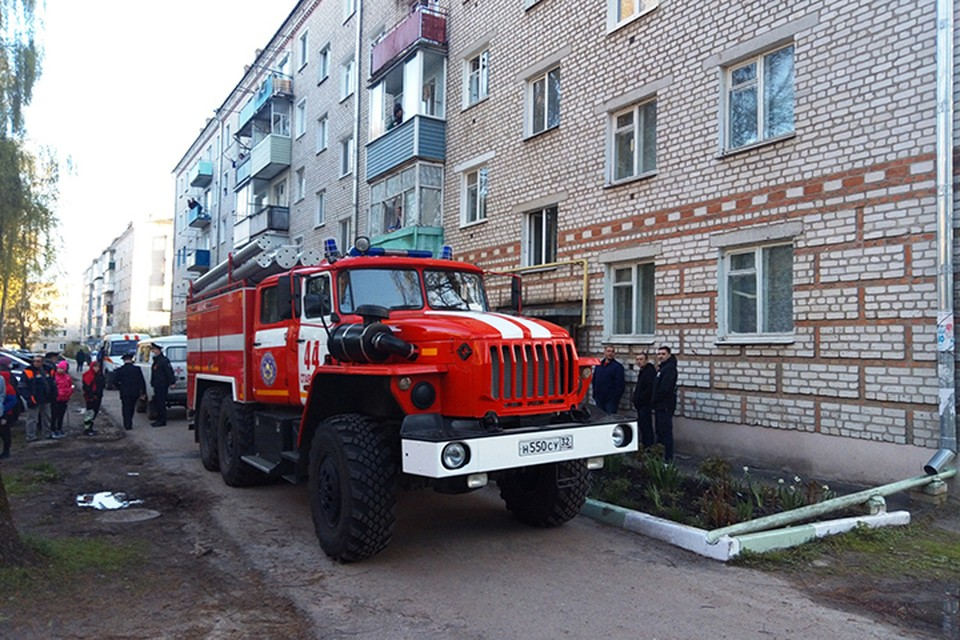 Пожар на улице Калинина случился вечером 9 мая.