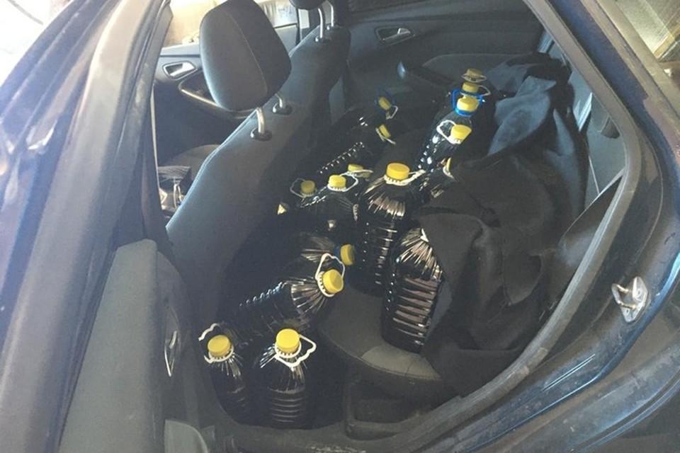 Паленый алкоголь продавали в гараже Фото: ГУ МВД по Самарской области