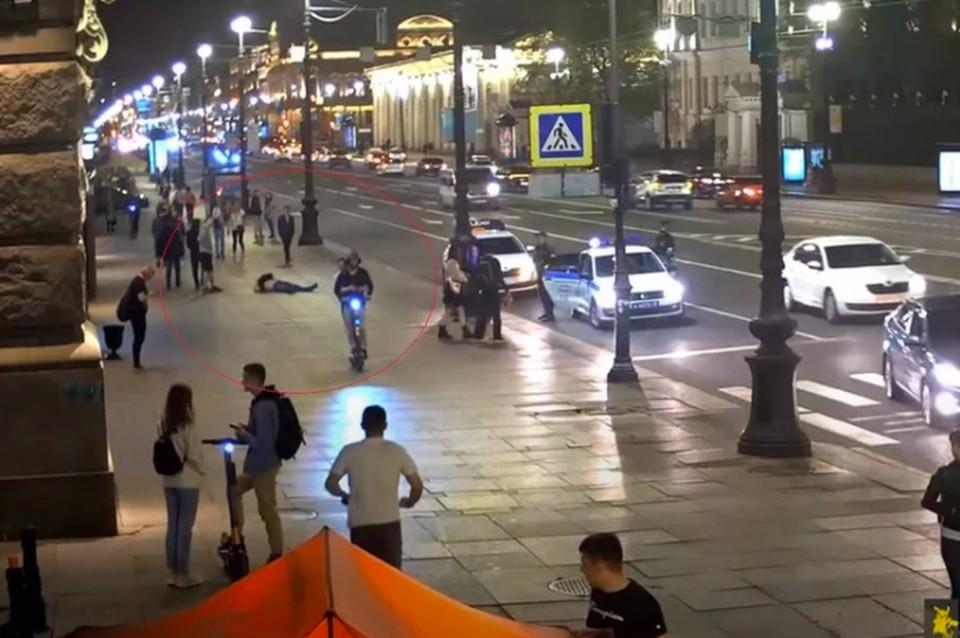 Задержаны подозреваемые в избиении на Невском проспекте писателя Валерия Айрапетян