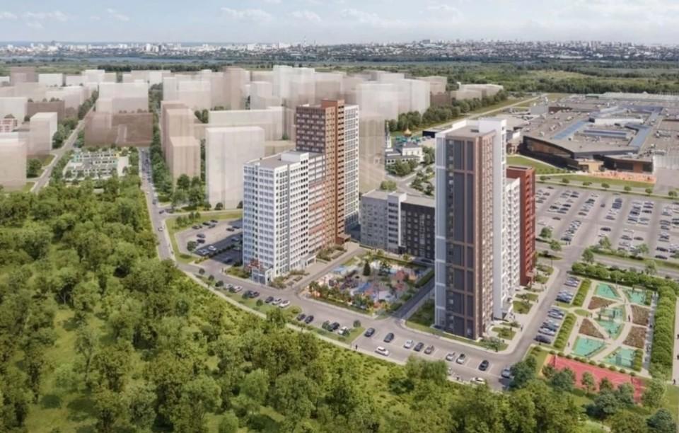 "За ""Амбаром"" хотят построить жилые дома на 21 тысячу квартир / Фото: amgrad.ru"