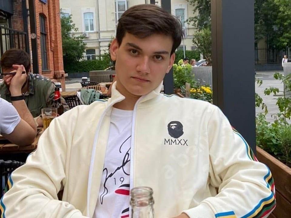 Младший сын Михаила Круга Александр.
