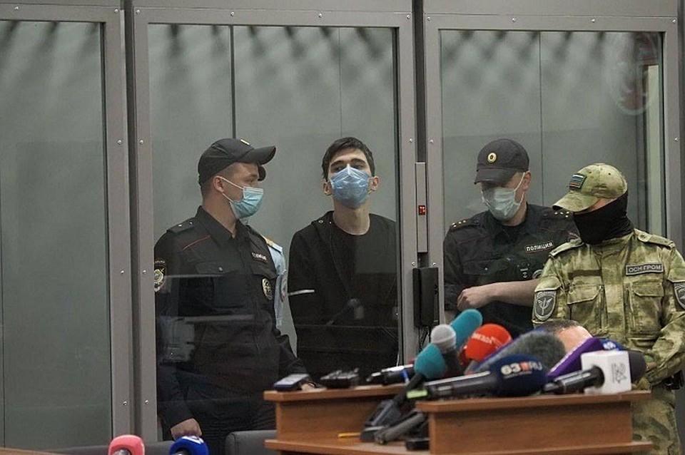 Ильназ Галявиев ворвался в школу и начал хладнокровно расстреливать людей. Фото: пресс-служба Советского суда Казани.