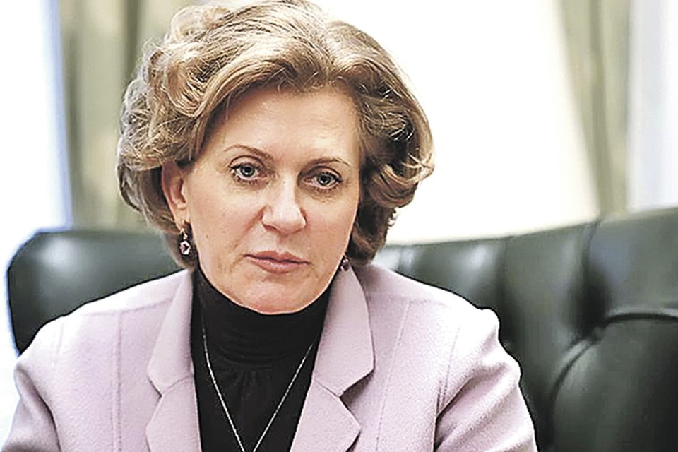 Анна ПОПОВА, руководитель Роспотребнадзора.