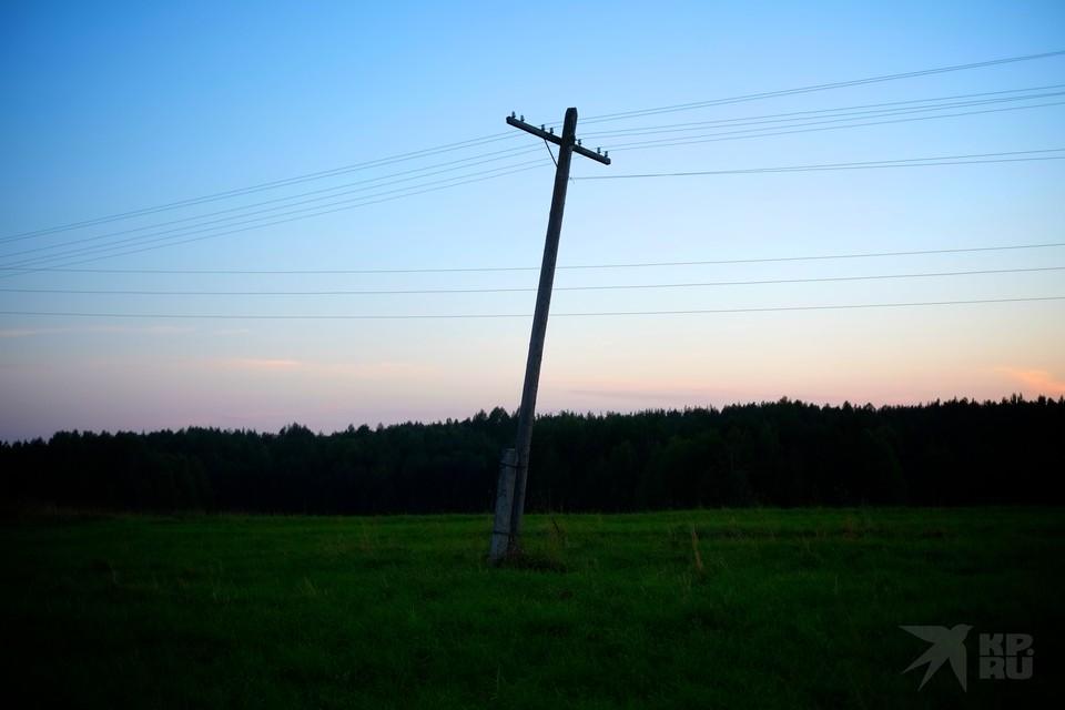 В шести районах Рязанской области 28 мая отключили электричество.