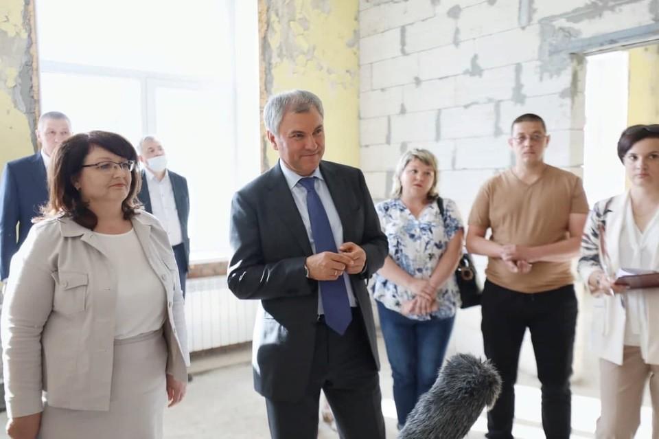 Вячеслав Володин в ЗАТО Светлый