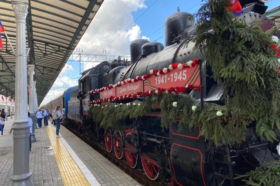 Фото: сообщество «Поезд Победы» в социальной сети «ВКонтакте»