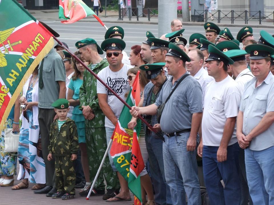 В Липецке празднуют День пограничника