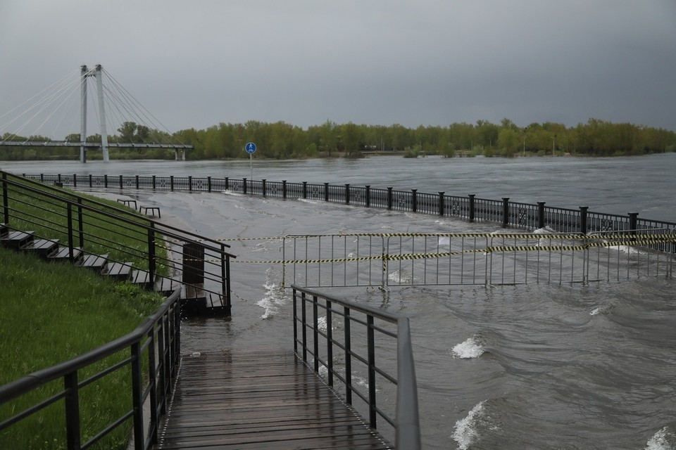 Красноярск ожидает рекордное за 100 лет наводнение