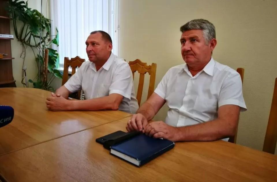 В служебном подлоге могут подозревать Николая Москаленко (справа)