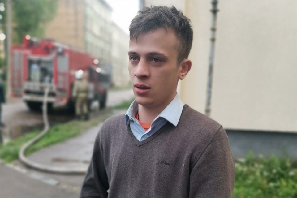 Александр Степанов на месте ЧП.