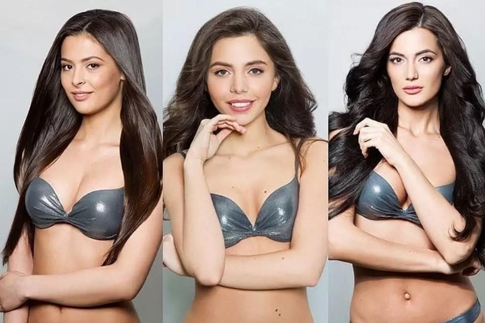 """Эти снимки девушек в интернете посчитали слишком вульгарными. Фото: missrussia.ru/коллаж """"КП"""""""