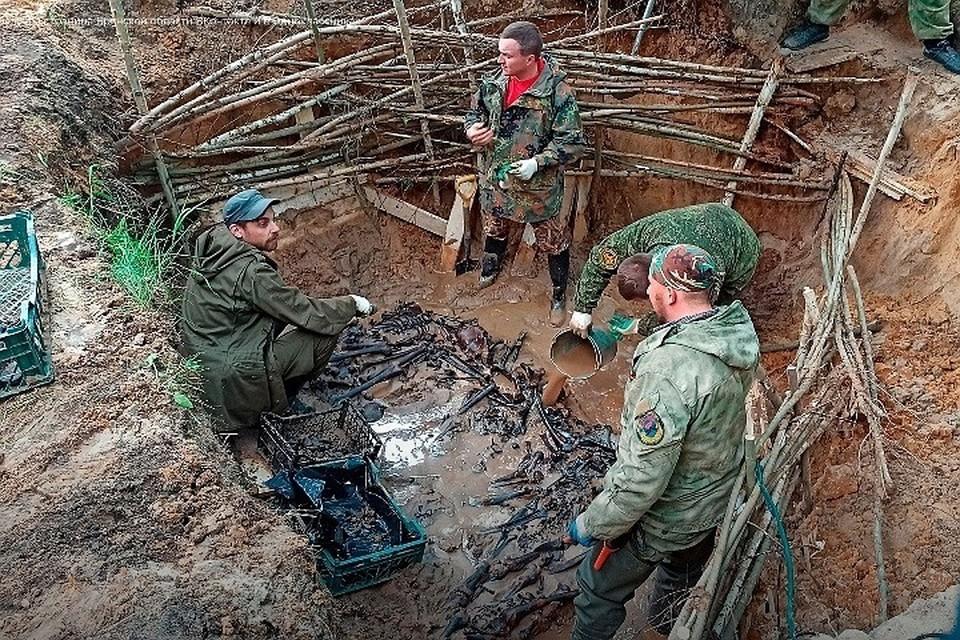 Установлено, что на месте проведения следственных действий в годы оккупации региона располагался концентрационный лагерь «Дулаг -142»