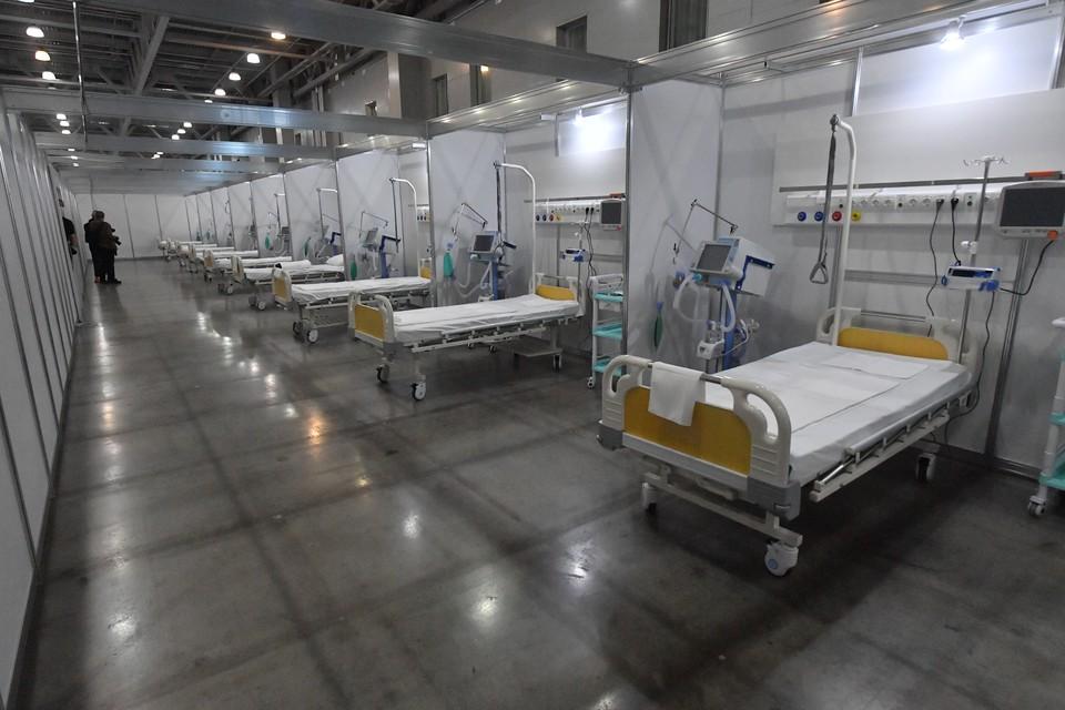 Сейчас в больницах региона лечат 1 179 инфицированных пациентов