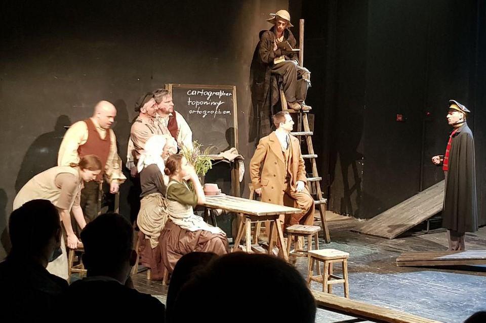 Спектакль «Нужен перевод» на сцене Молодежного театра Краснодара