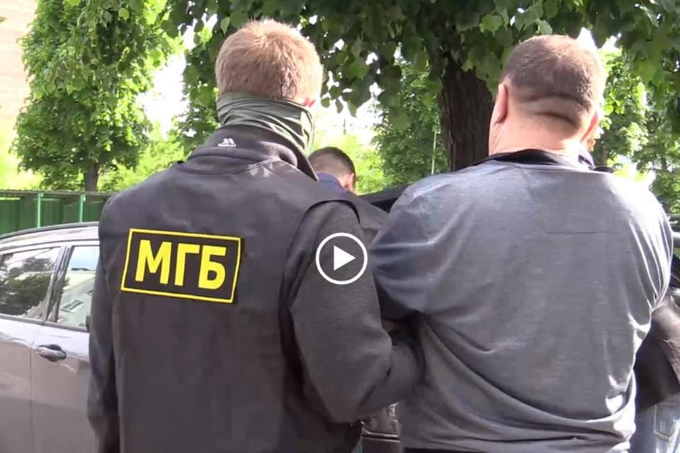 Замруководителя РСК задержали с поличным. Фото: Скриншот видео МГБ ЛНР