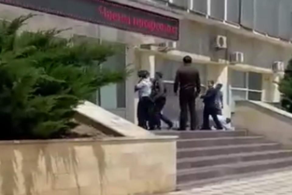 Фото: фрагмент видео
