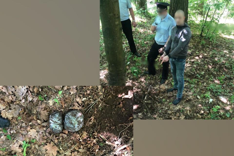 Тверичанина, который произвёл 2,7 килограмма наркотиков, задержали. Фото: пресс-служба МВД по Тверской области.