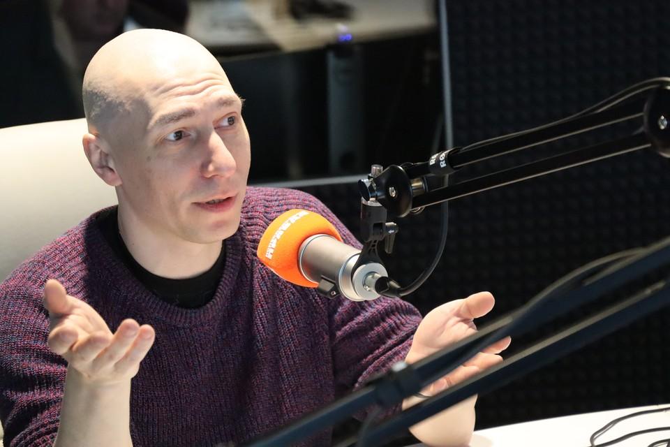 Администратор Московского театра кукол Юрий Макриди в эфире радио «КП-Сахалин»