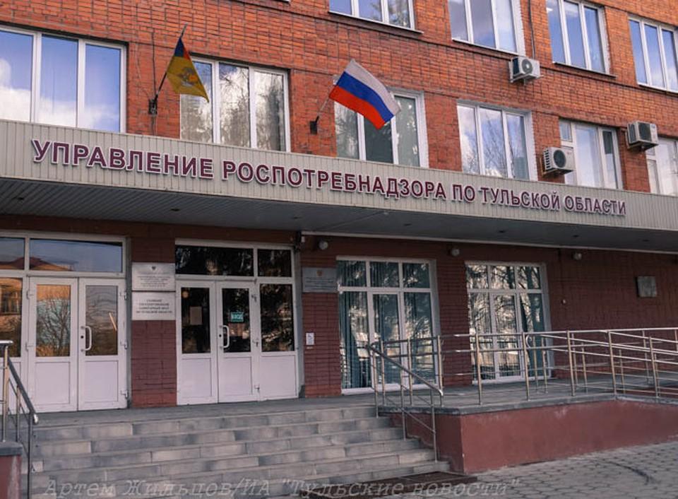 В городе Щекино Тульской области за «антиковидные» нарушения закрыли торговый центр