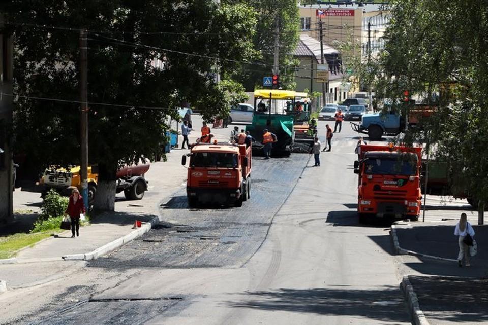 В Брянске из-за ремонта перекрыли улицу Горького.