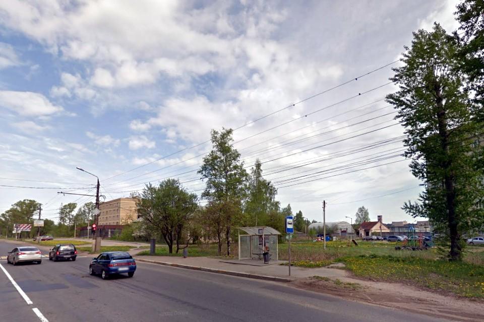 На участке рядом с Московским шоссе в черте Твери появится вертодром. Фото: Гугл карты/скрин