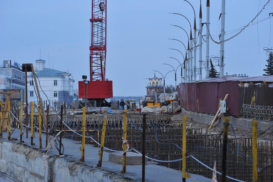 Реконструкция Красного моста в Орле