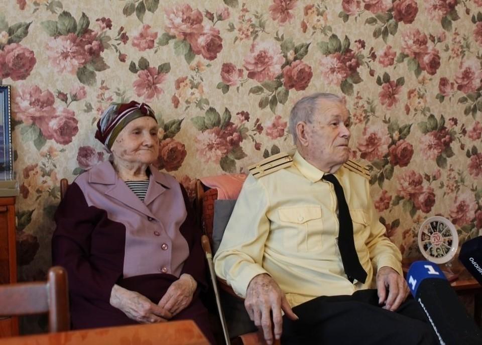 Нина Ивановна и Виктор Николаевич Беседины. Фото: sev.gov.ru