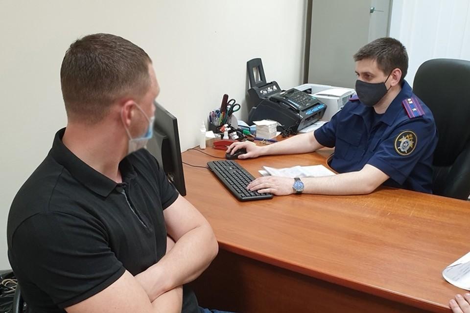 В Брянске на полицейского завели уголовное дело за взятку. Фото: пресс-служа СУ СК России по Брянской области.