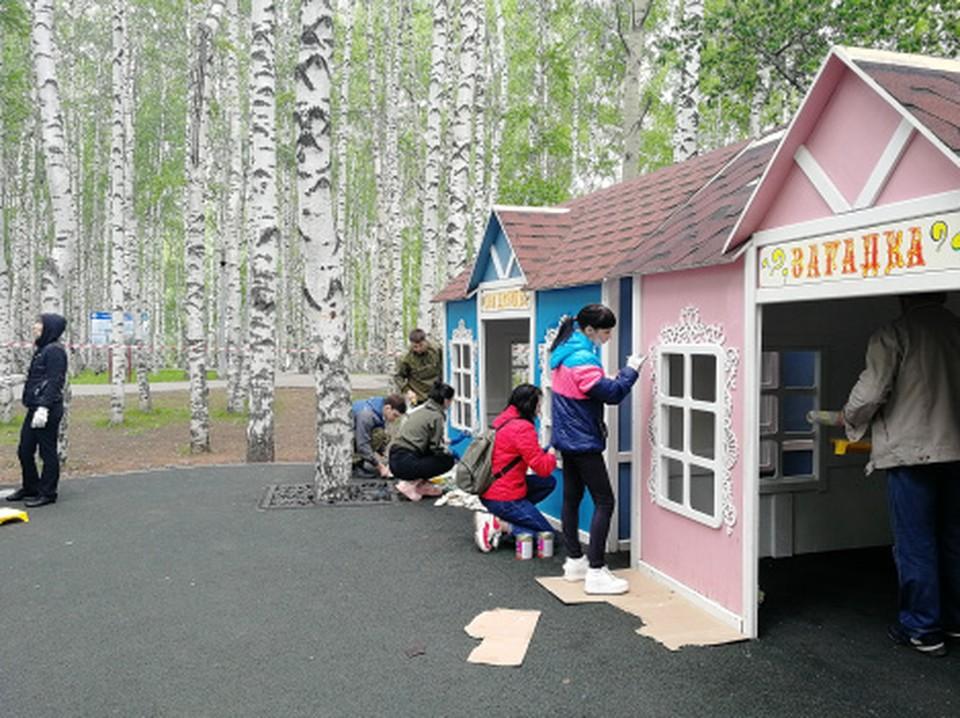 «Сад добрых дел» ждёт юных посетителей Фото: Городской информационный центр