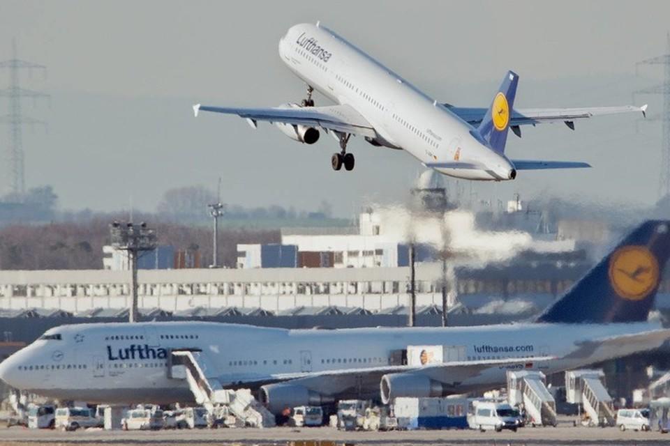 Lufthansa продлила приостановку полетов над Беларусью до 20 июня. Фото: ТАСС