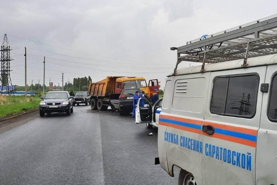 В ДТП погиб водитель иномарки
