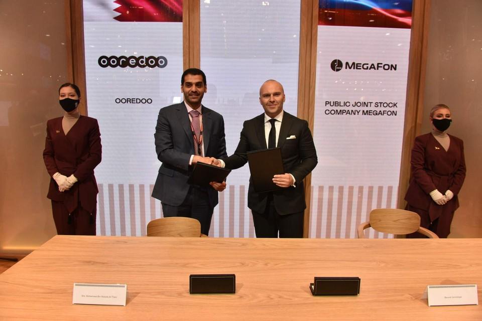 В рамках подписанного меморандума МегаФон предоставит Ooredoo экспертную помощь по подготовке технологической инфраструктуры на крупных спортивных мероприятиях. Фото: пресс-служба МегаФон