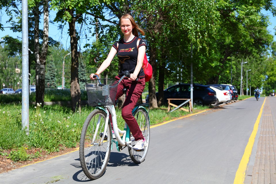 В честь дня велосипедиста составили для вас карту велодорожек Ижевска