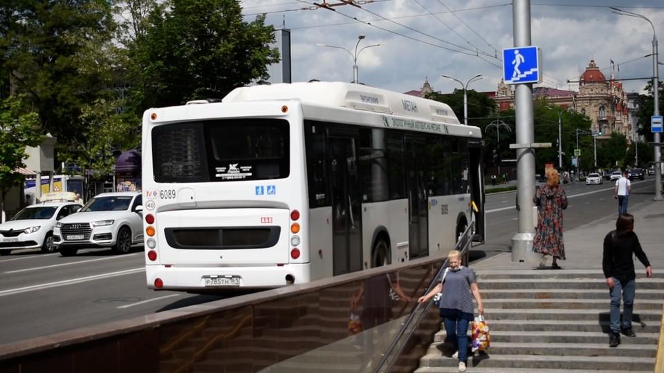 Около 300 тысяч пассажиров ежедневно передвигаются на городском транспорте в Ростове. Фото: СЕЛИМОВ Артур.