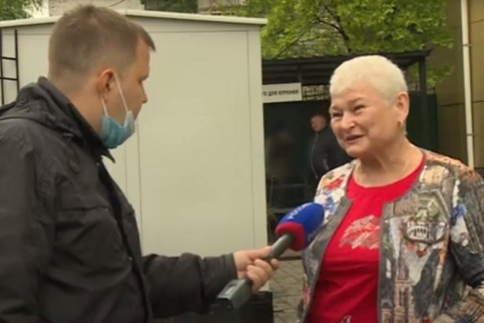 «С обвинением я не согласна»: суд над Ольгой Тен начался в Хабаровске. Фото: скриншот с телевизионного сюжета.