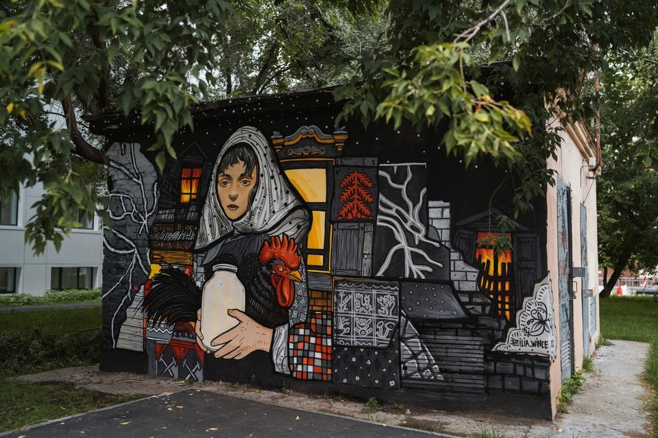 В Тюмени появится десяток новых стрит-артов.
