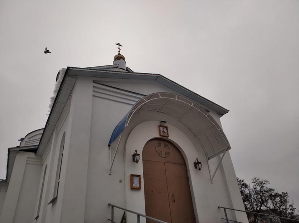Рядом была церковь