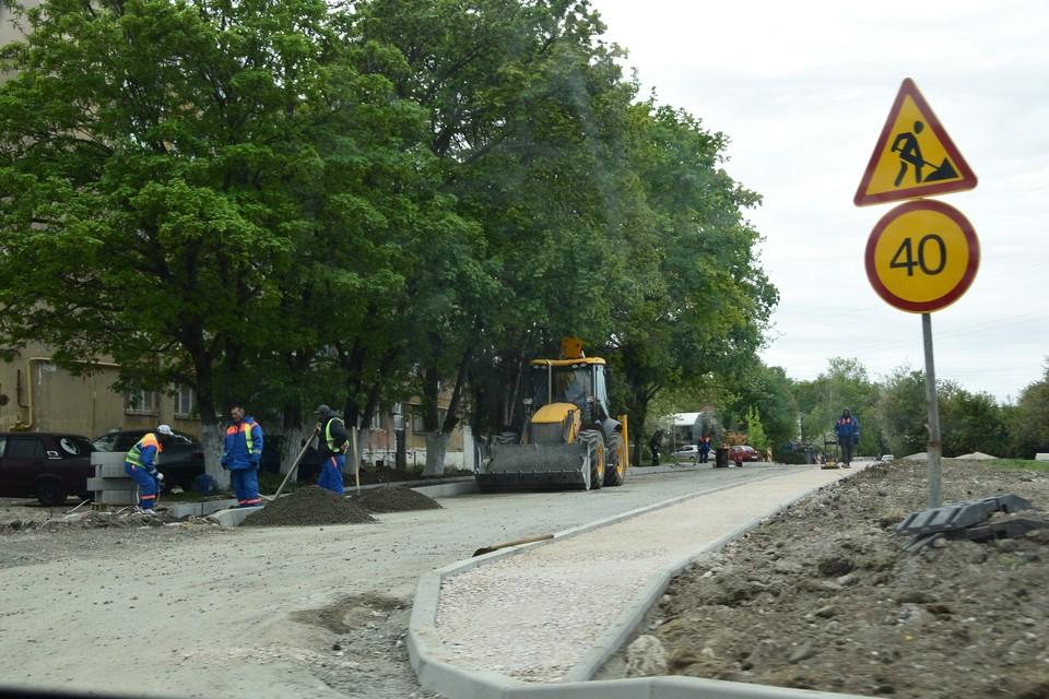 Работы проведут в рамках нацпроекта «Безопасные и качественные дороги». Фото: пресс-служба администрации Симферополя.