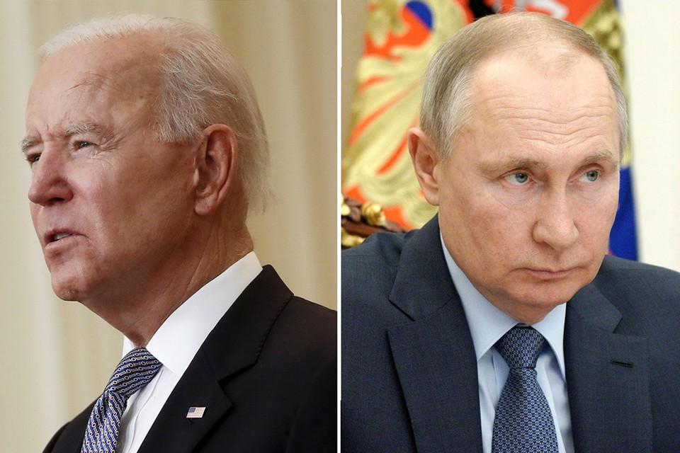В Кремле рассказали, планирует ли Путин поднимать тему Беларуси на встрече с Байденом. Фото: Global Look Press