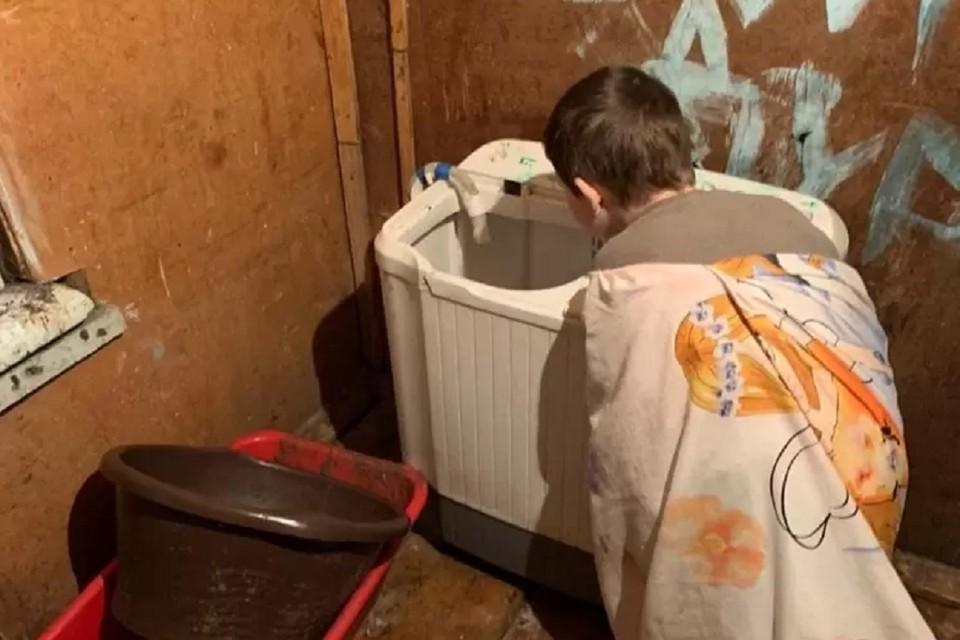 В полиции проверили, какие сейчас условия в доме. Фото: предоставлено Татьяной Осадчей.
