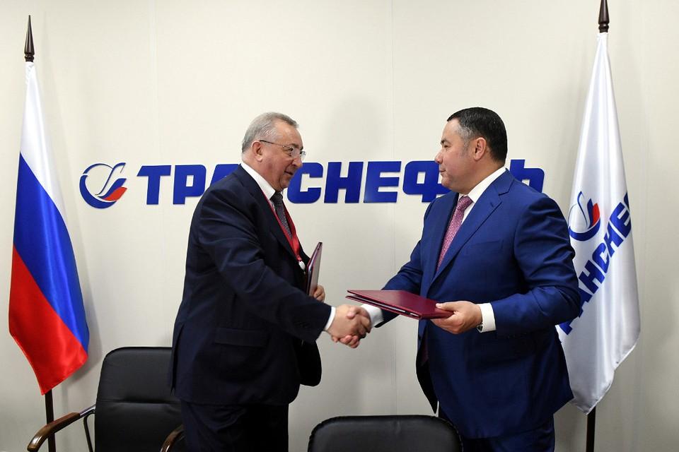 Николай Токарев и Игорь Руденя. Фото: ПТО