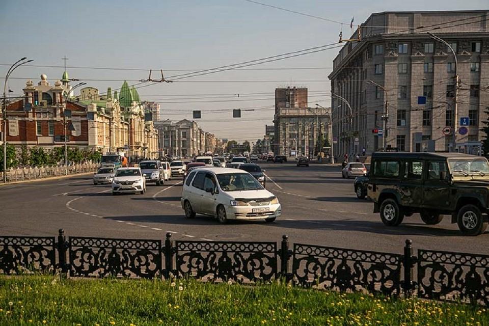 Красный проспект в Новосибирске — важная часть истории города. Фото: «Ведомости Законодательного Собрания Новосибирской области»