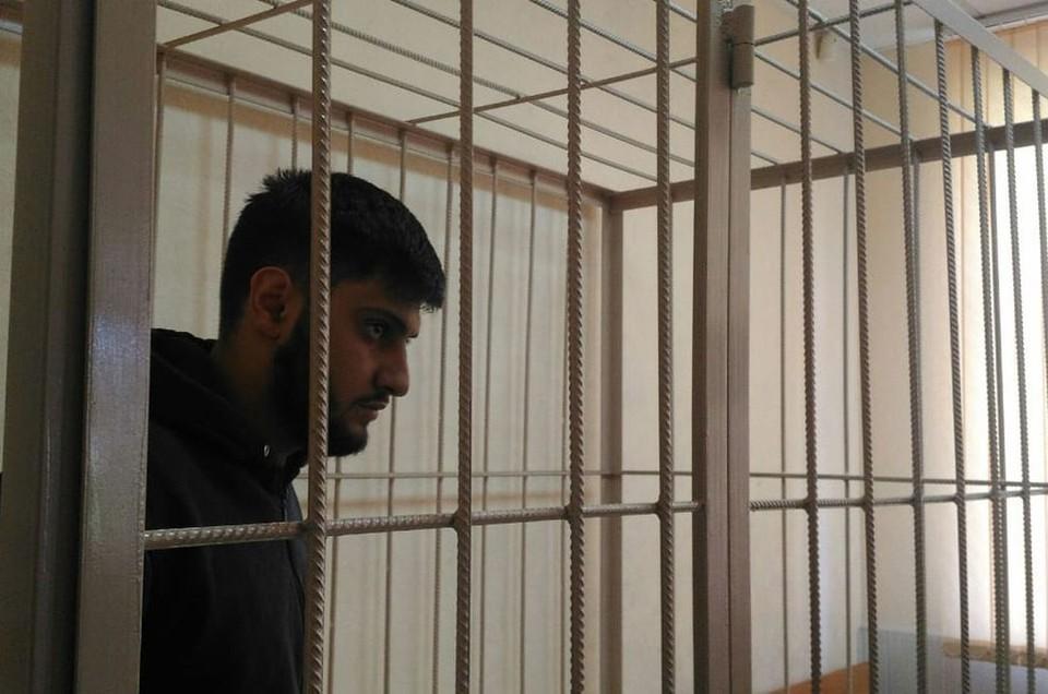Илькин Исмаилов под стражей будет находиться два месяца. Фото: Управления Судебного департамента в Новосибирской области