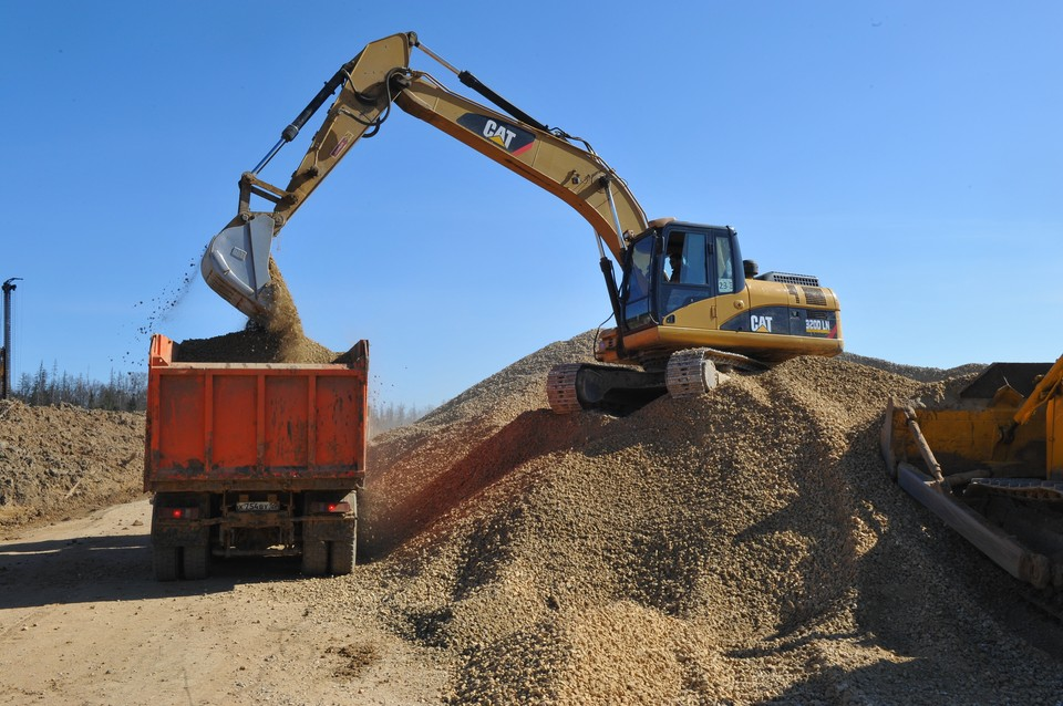 В Рязанской области полезные ископаемые в основном представлены песком да известняком.