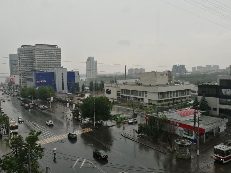 Воскресенье в Волгограде будет дождливым