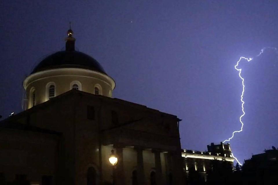 В Москве 6 июня ожидается сильнейшая гроза