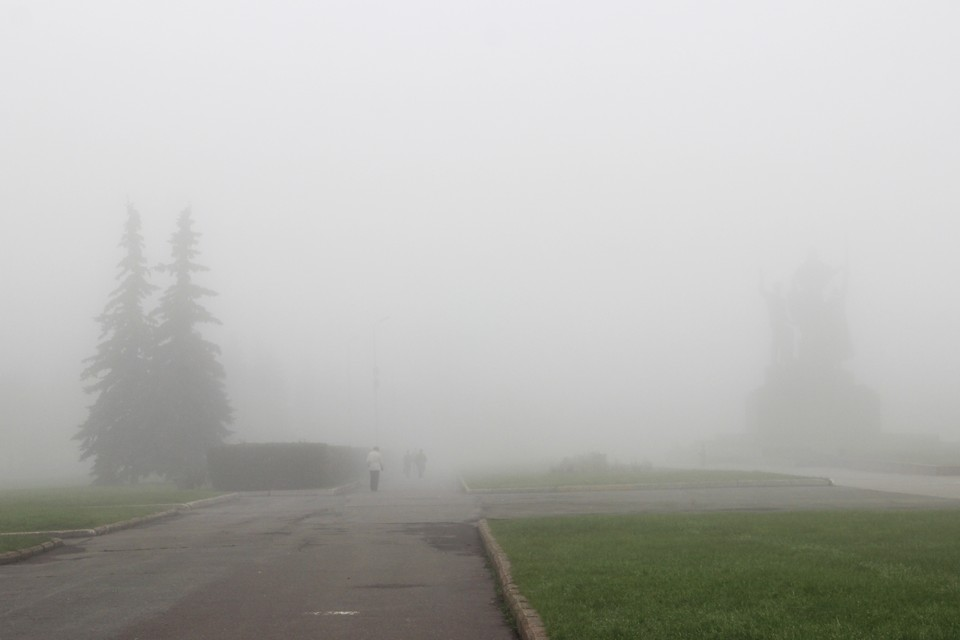 Видимость на дорогах утром сильно снизится