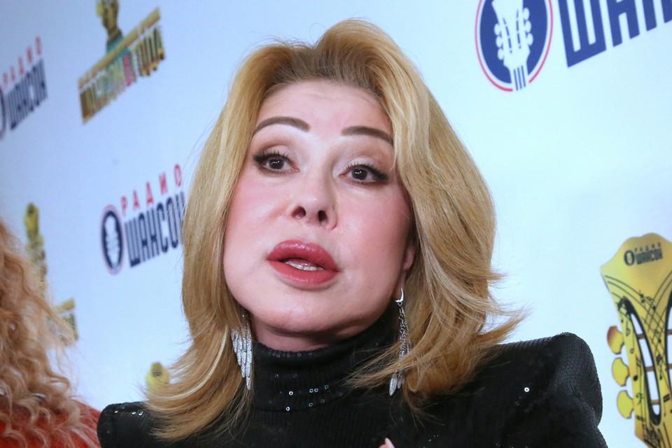 Любовь Успенская стала одной из звезд премии «Шансон года 2020/21».